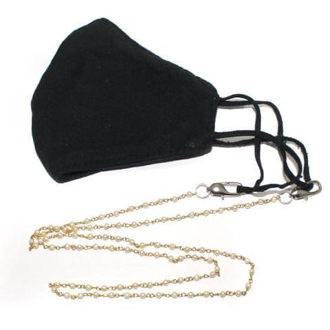 Peal Beaded Designer Mask Chain Dori