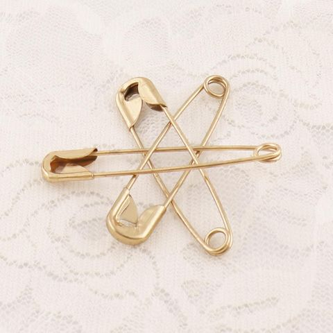 Gold Safety Pin 2 Inch