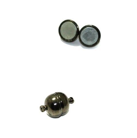 Metallic 5 Pcs Magnetic Clasps , Size 12mm