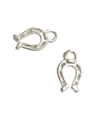 Sterling Silver Horse Shoe Charm