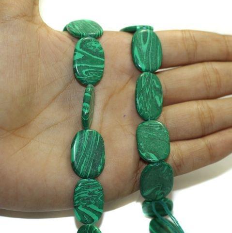 2 Strings Semiprecious Howlite Beads 21x15mm