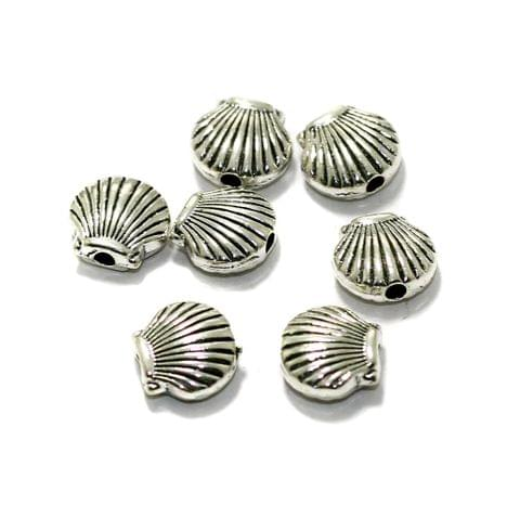 50 Pcs German Silver Spacer Beads 8x8mm