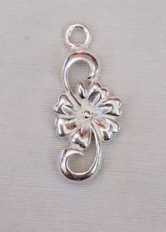 Sterling Silver Flower Mural Charm