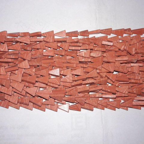 Semiprecious Coral Tikon. 10 String.