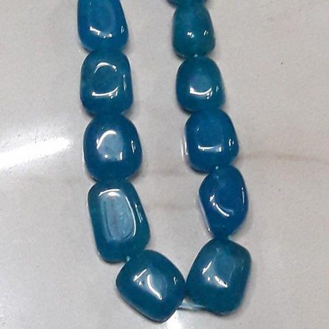 Semiprecious Blue Turquoise Quartz Tumble 18mm