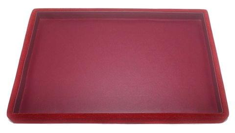 Beading Jewellery Display Tray Cherry Red 12x8 inch, Pack of 3 Pcs.
