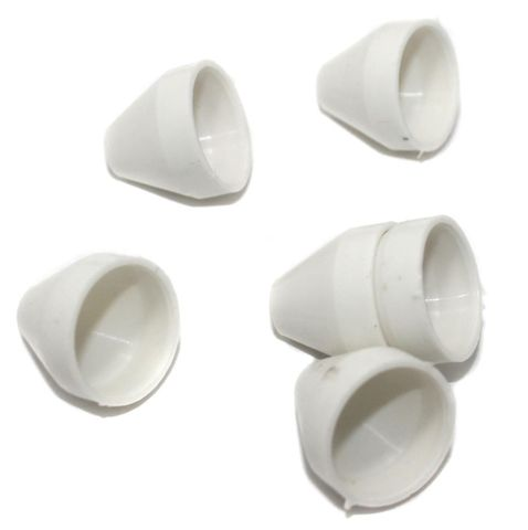 Silk Thread Jewellery Making Cone Shape Jhumka base, Size 20x18 , Pack Of 50 Pcs