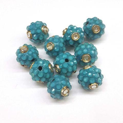Blue, Takkar Ball 16mm, 10 Pieces