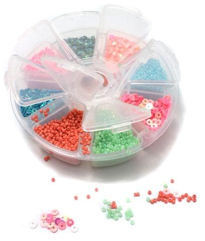 Jewellery Making Seed Beads And Sequins DIY Kit