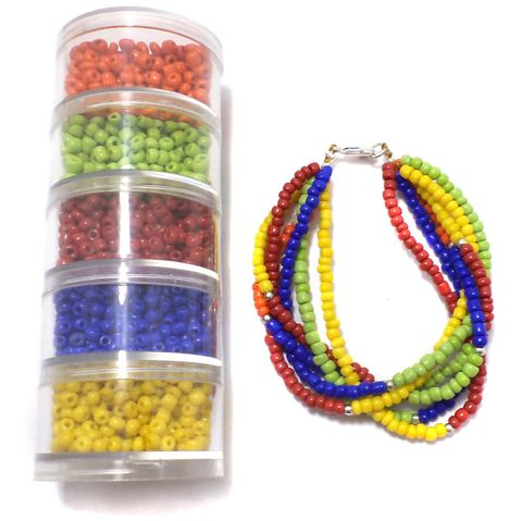 Jewellery Making Seed Beads DIY Kit