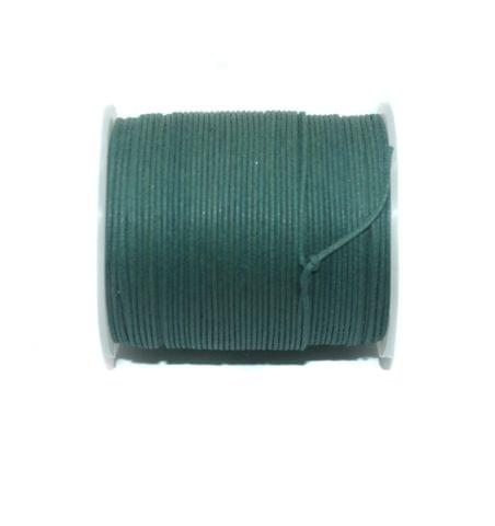 100 Mtrs. Jewellery Making Cotton Cord Teal 1 mm