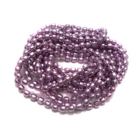 4 Metal Ball Chain Pink 2 [1 Mtr Each]