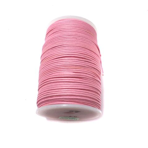 100 Mtrs. Jewellery Making Cotton Cord Pink 2 mm