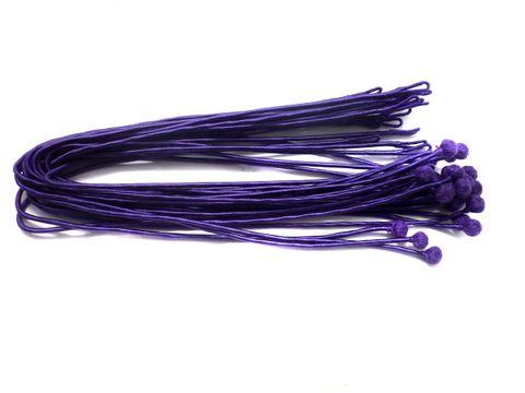 25 Pcs. Necklace Dori Purple 18 Inch