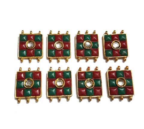 8 pcs Red Green Color Spacers 30x22mm
