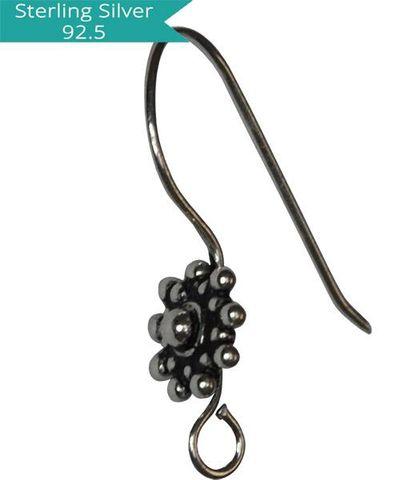 Sterling Silver Ethnic Ear wire
