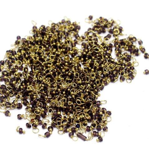 740+ Loreal Seed Beads Purple 2 mm