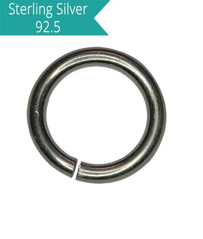 Sterling Silver 4mm Open Jump Ring