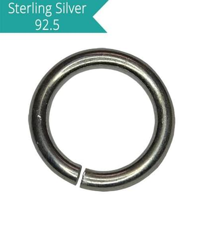 Sterling Silver 7mm Open Jump Rings