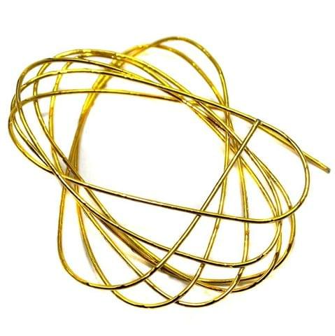5 Metal Wire Golden 32 Inch