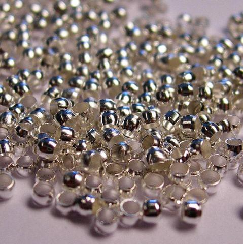 720+ Crimp Beads Silver 1mm