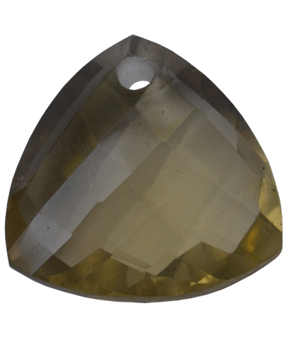 Briolette Faceted Lemon Topaz Trillion