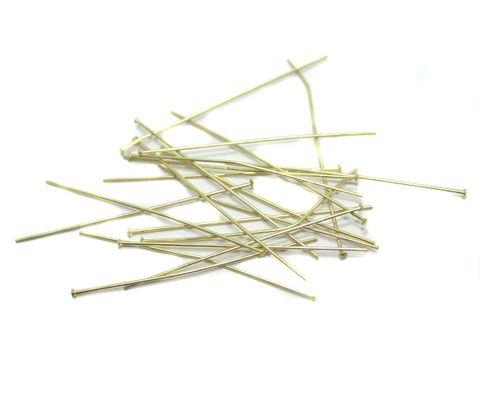 500 Pcs. Brass Golden Head Pins 2 Inch