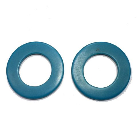 10 Resin Round Pendants Round 50 mm