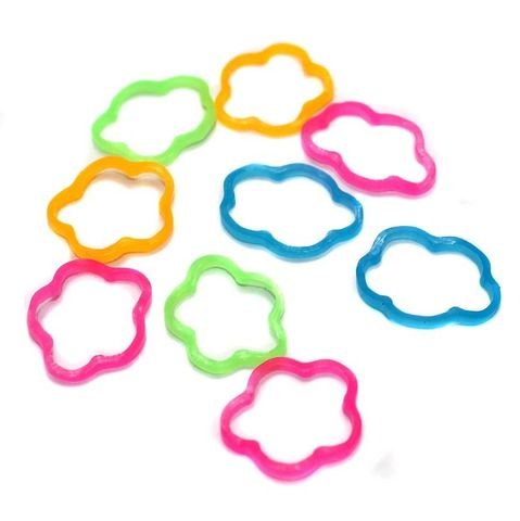 400 Craft Rubber Assorted Color 15 mm