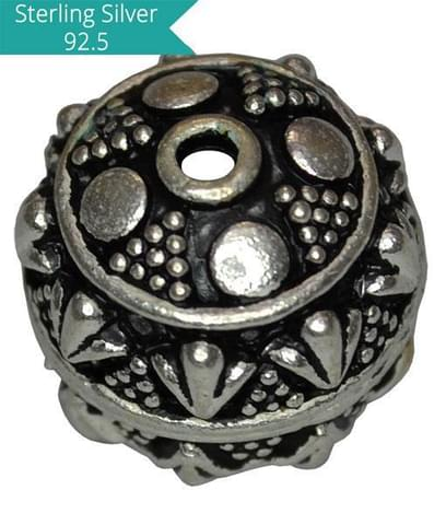 Sterling Silver Large Fine Bead