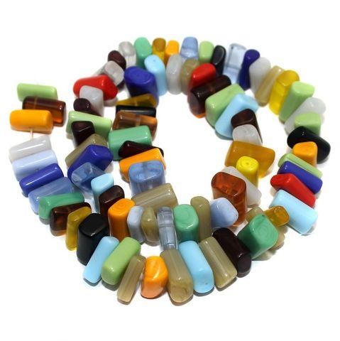 70+ Hanger Beads Assorted 12x7mm