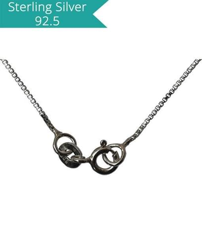 Sterling Silver Box Chain - 42cms