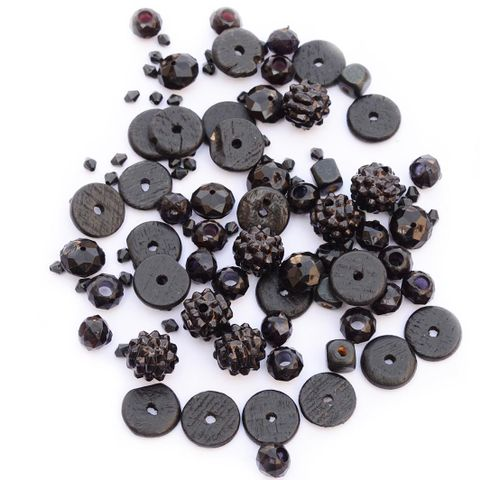 Buy 1 Get 1 Free Assorted Black Beads