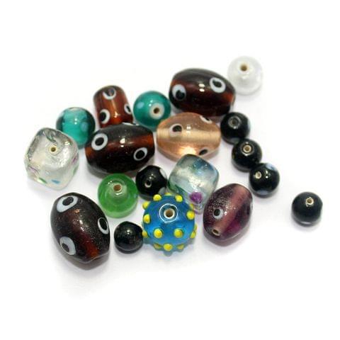 35+ Bump Beads Assorted 8-20mm