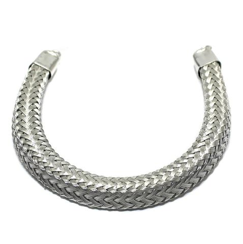 Necklace Collar Silver 7.5 Inch