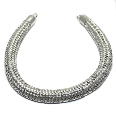 Necklace Collar Silver 10 Inch