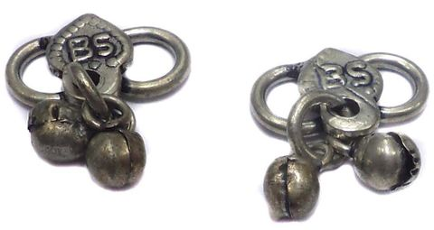 20 German Silver S Hooks 11x16mm