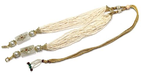 Necklace Dori Cream, Pack Of 1 Pc