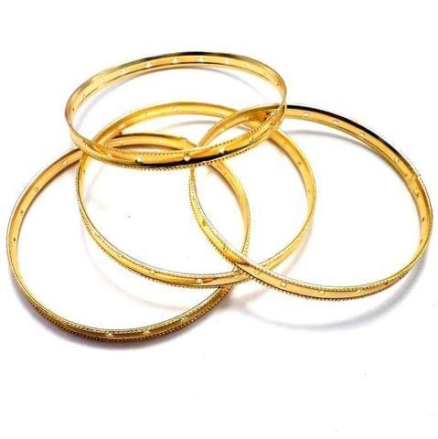 4 Bangles Base Golden 2'3 Inch
