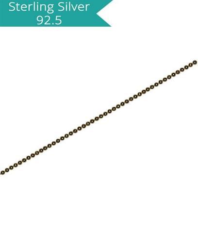 1.25mm Ball Chain - 100 cms