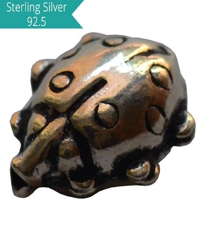 925 Silver Lady Bug Bead