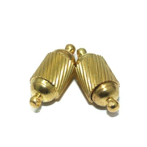 5 Pcs Magnetic Clasps Golden, Size 19x8mm