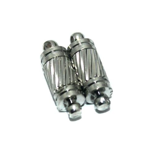 Magnetic Clasps, Size 16.5x5.5mm, Pack of 20 Pcs