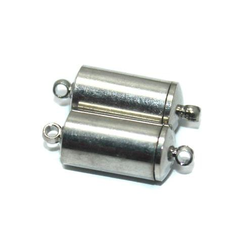 Magnetic Clasps, Size 21x8.5mm, Pack of 10 Pcs