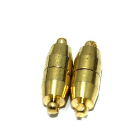 5 Pcs Magnetic Clasps Golden, Size 19x6.5mm