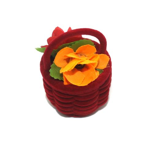 Designer Finger Ring Box Red