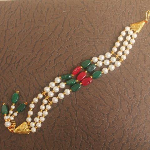 Beaded Multicolor Rakhi