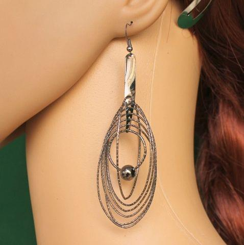 Fashion Earring For Girls Silver