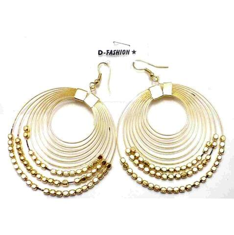 Fashion Earring For Girls Gold