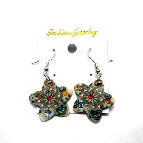 Fashion Star Earring For Girls Multi